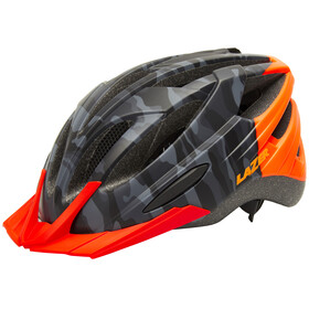 Lazer Vandal Helmet mat black camo/flash orange